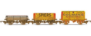 Hornby Model Railway Shop - Private Owner Wagons - Three Wagon Pack - R6450