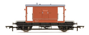 Model Railway Wagon - Hornby BR 20 Ton Brake Van - New Tooling - R6508