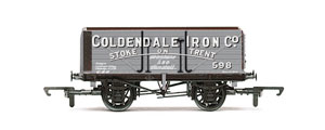 Model Railway Wagon - Hornby Coldendale Iron Co - 7 Plank Wagon