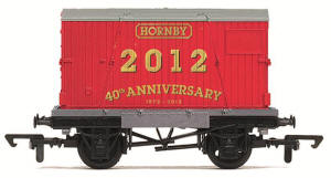 Hornby 2012 Wagon 'Conflat and Container' - R6609