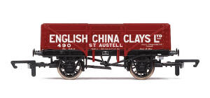 Hornby English China Clays - 7 Plank - R6666