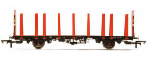 Hornby EWS OTA Timber Wagon Tapered Stanchions - R6792
