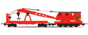 Hornby Red Breakdown Crane - R6797