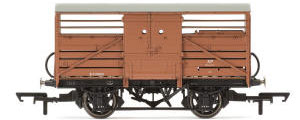 Hornby  Dia.1529 Cattle Wagon, British Railways - Era 4 - R6839A