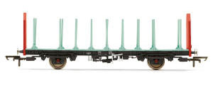 Hornby OTA Timber Wagon (Parallel Stanchions), EWS - Era 9 - R6847