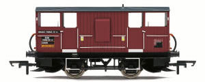 Hornby ZUA 'Shark' Ballast Plough Brake Van, EWS - Era 8 - R6851