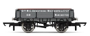 Hornby 3 Plank Wagon, Armstrong Whitworth & Co. Ltd - Era 3 - R6859
