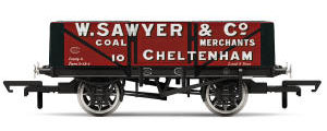 Hornby 5 Plank Wagon, W. Sawyer - Era 3 - R6867