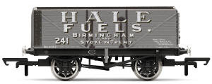 Hornby 7 Plank Wagon, Hale Fuels - Era 2 - R6874