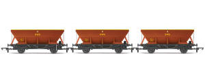 Hornby HEA Hopper Wagon, three pack, EWS - Era 9 - R6885