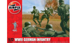 Airfix - WWII German Infantry - 1:72 (A00705)