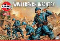 A00728V - Airfix Vintage Classics - WWI French Infantry - 1:76 (A00728V)
