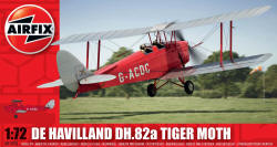 Airfix - De Havilland Tiger Moth - 1:72 (A01024)