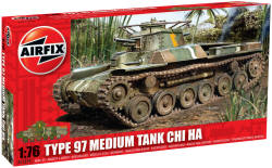 Airfix - Type 97 Medium Tank Chi Ha - 1:76 (A01319)
