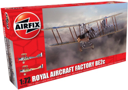 Airfix - Royal Aircraft Factory BE2c Scout - 1:72 (A02104)