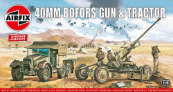 Airfix - Bofors 40mm Gun and Tractor - 1:76 (A02314V)