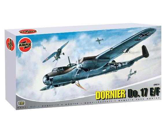 Discontinued A04014 Airfix Dornier Do 17 E F 1 72
