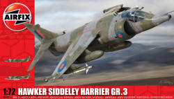 Airfix - Hawker Siddeley Harrier GR3 - 1:72 (A04055)