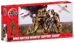Airfix - WW2 British Infantry Support Group - 1:72 (A04710)