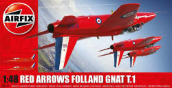 Airfix - Red Arrows Gnat - 1:48 (A05124)
