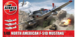 Airfix - North American F51D Mustang - 1:48 (A05136)