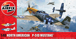 Airfix - North American P-51D Mustang� - 1:48 (A05138)