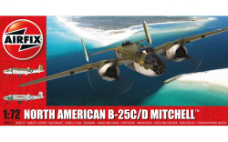 North American B25C/D Mitchell - 1:72  (A06015)