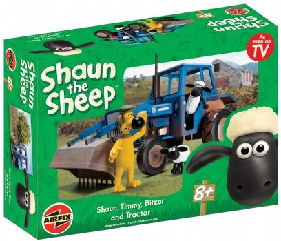 Airfix - Shaun the Sheep with