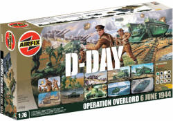 Discontinued - A50064 - Airfix - D-Day Collection Gift Set