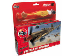 Airfix - Curtiss P-40E Kittyhawk Gift Set - A50078