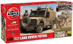 Airfix - British Forces - Land Rover Patrol Gift Set  - 1:48 (A50121)