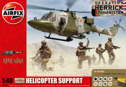 Airfix - British Forces - Helicopter Support Gift Set - 1:72 (A50122)