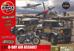Airfix - D-Day The Air Assault Gift Set - 1:72 (A50157)