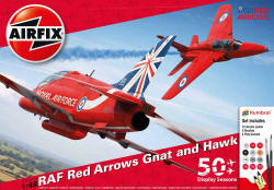 Airfix - Red Arrows 50th Display Season Gift Set - 1:48 (A50159)