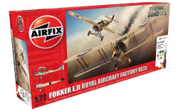Airfix - Fokker EIII/BE2C Dog Fight Doubles Gift Set - 1:72 (A50177)