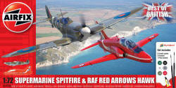 Airfix - Best of British Spitfire and Hawk - 1:72 (A50187)