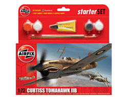 Airfix - Curtiss Tomahawk IIB - 1:72 (A55101)