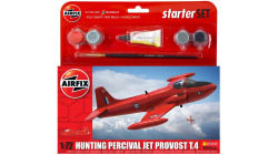 Airfix - Hunting Percival Jet Provost T3 Starter Set 1:72 (A55116)