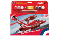 Airfix - Red Arrows Hawk 2015 Starter Set - 1:72 (A55202B)