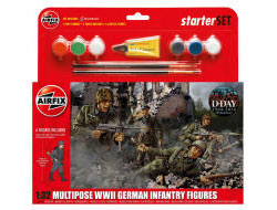 Airfix - WWII German Infantry Multipose - 1:32  (A55210)