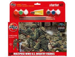 Airfix - WWII US Infantry Multipose - 1:32 (A55212)