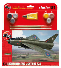 Airfix - English Electric Lightning F.2A Starter Set - 1:72 (A55305)