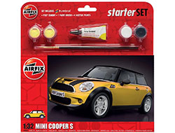 Airfix - Large Starter Set - MINI Cooper S - 1:32 (A55310)