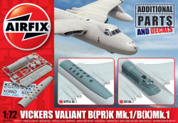 Airfix - Vickers Valiant Photo-Reconnaissance and Refueller Parts - 1:72 (A65000)