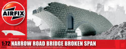 Airfix Narrow Road Bridge Broken Span Unpainted - 1:72 - A75012