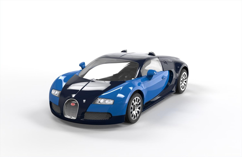 j6008 airfix quick build bugatti veyron lego compatible. Black Bedroom Furniture Sets. Home Design Ideas