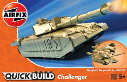 Airfix Quick Build - Challenger Tank - J6010
