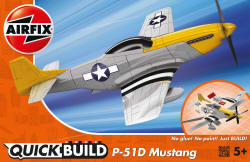Airfix Quick Build - Mustang P-51D - J6016