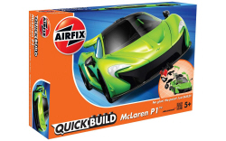 Airfix Quick Build - McLaren P1 (Green) - J6021