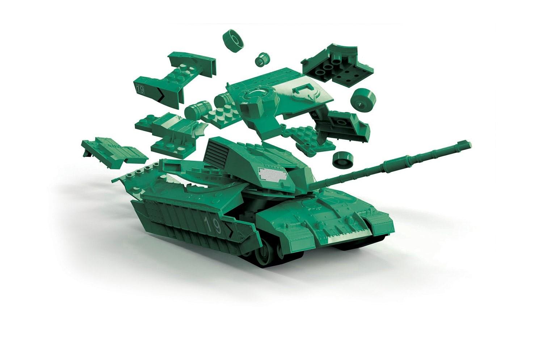 Airfix Quick Build Kit J6022 Challenger Tank